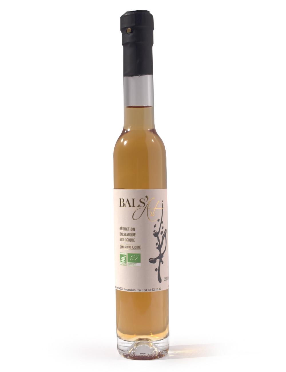 réduction de vinaigre balsamique blanc