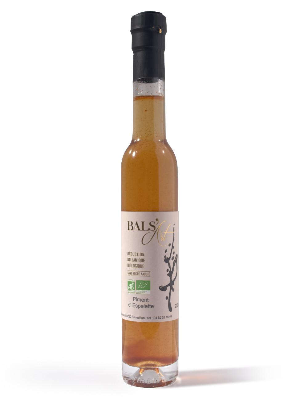 réduction balsamique au pimentd'espelette